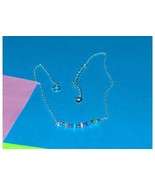 Sterling Silver Cat Eye Necklace - $9.97