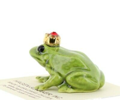 Birthstone Frog Prince July Simulated Ruby Miniatures by Hagen-Renaker