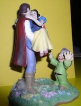 Snow White the Prince and Dopey Disney figurine  - $193.99