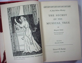 Judy Bolton mystery no.19 The Secret of the Musical Tree hc Margaret Sutton - $4.50