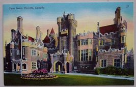 1940s PC Casa Loma Toronto Canada Castle View - $4.95