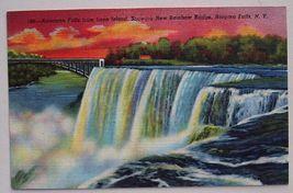 1940s PC American Falls from Luna Island, Niagara - $4.95