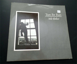 """Tears for Fears Vinyl record Pale Shelter 12"""" Single - ₹851.56 INR"""