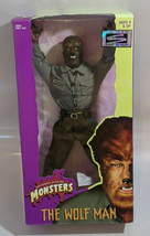 "Wolf Man Universal Studios Monster Signature Series Action Figure 12"" Ha... - $35.59"