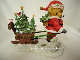 Cherished Teddies Santa Series 2012 Foster  NIB SIGNED - $76.18