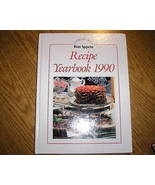 Cooking With Bon Appetit Series Recipe Yearbook 1990 - $5.00