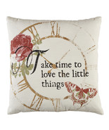 Olivia's Heartland Take Time To Love The Little Things Pillow Designs Be... - $30.00