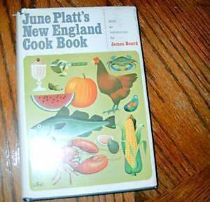 June Platts New England Cook Book  image 1
