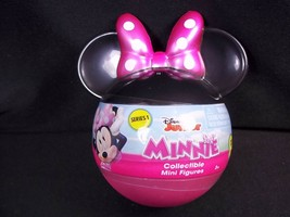 Disney Jr Minnie Mouse collectible mystery figure blind head shaped pack NEW - $6.26