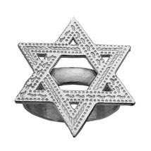 Large Star Of David JEWISH Authentic Real Solid Sterling Silver 925 Ring... - $29.08