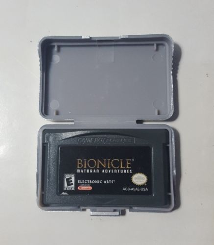 BIONICLE MATORAN ADVENTURES - Nintendo Gameboy Advance GAME GBA Tested Working