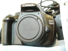 Canon EOS 1100D 12.0MP Digital SLR Camera Boxed + Charger + Batt -GREAT ... - $100.00