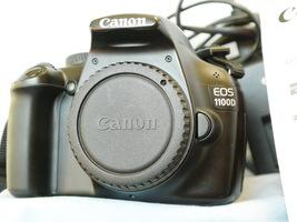 Canon EOS 1100D 12.0MP Digital SLR Camera Boxed + Charger + Batt -GREAT ... - $100.00