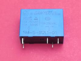 SMI-S-112L1-01, 12VDC Relay, SANYOU Brand New!! - $6.21