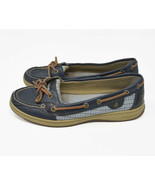 Sperry Women's Sz 8M Blue Leather / Synthetic Upper Slip On Loafer Boat ... - $26.95