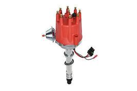 GMC Chevy SBC BBC V8 Pro Billet R2R Distributor 327 350 396 454 Red