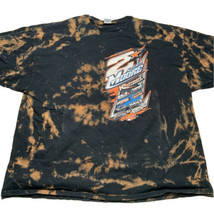 Gildan Mens 3XL Kyle Moore NASCAR Racing Acid Wash T Shirt Double Sides ... - $29.63