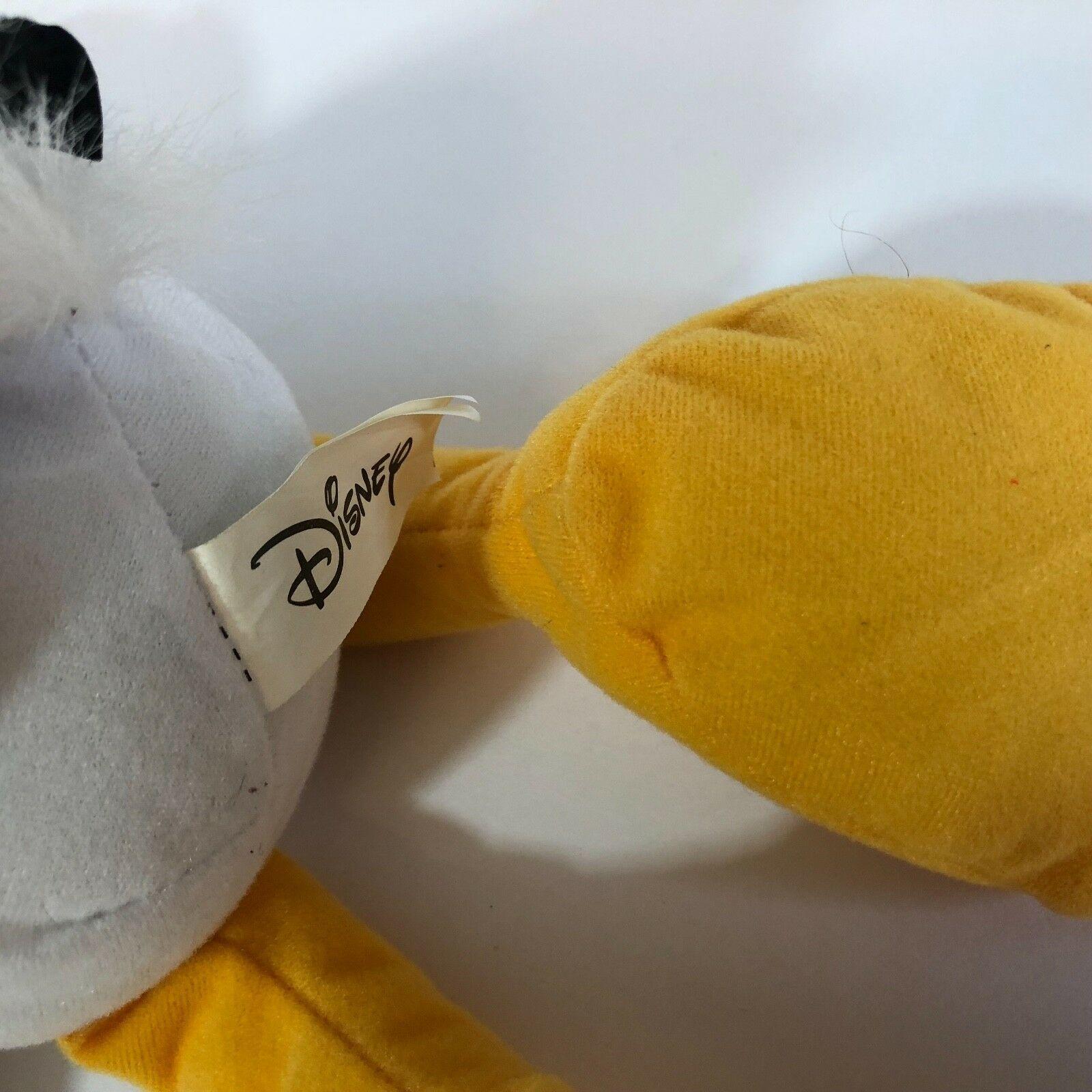 "Donald Duck Plush In Black Tuxedo 14"" Tall CUTE"