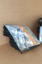 08-13 Cadillac CTS 4 door Sedan Halogen Headlight Lamp Set L&R image 5