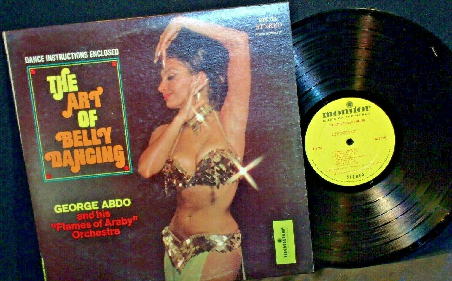 Art of Belly Dancing George abido and his Flames of Araby Orchestra MFS 752 Ster