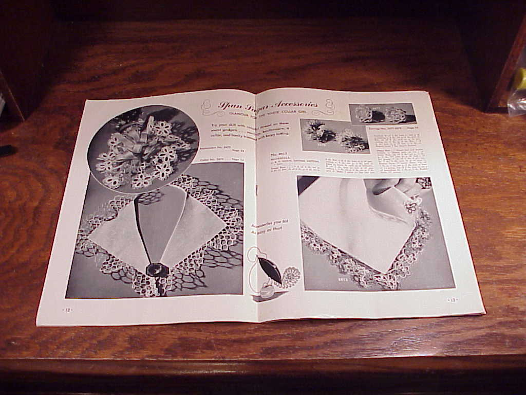 Tattling A Fascinating Book of Delicate Lace Designs Booklet, no. 207