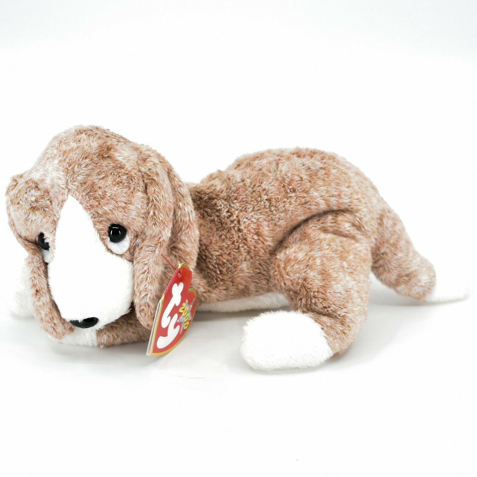 2000 Ty Beanie Baby Sniffer the Bloodhound Puppy Dog Beanbag Plush Doll Toy