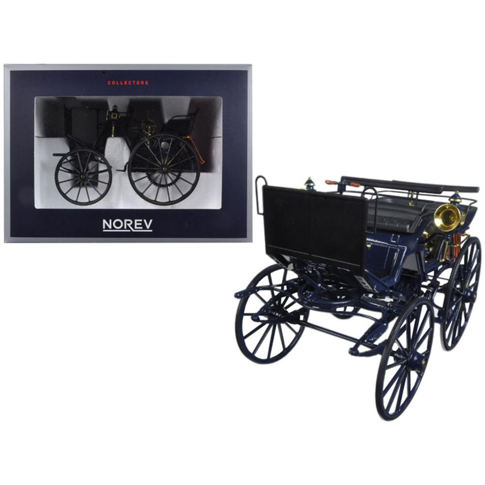 1886 Daimler Motorkutsche 1/18 Diecast Car Model by Norev 183700