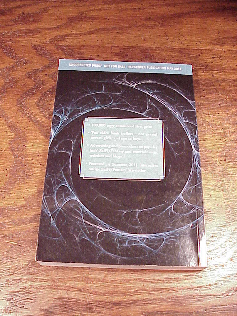 Troubletwisters, Book One, Uncorrected Proof Book by Garth Nix and Seth Williams