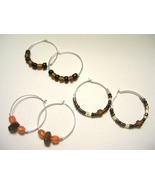 Everyday Earth Tone Hoops - $4.00