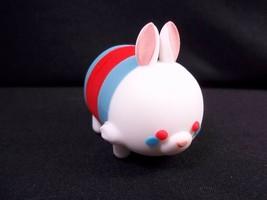 Disney Series 1 White Rabbit Figural 3D keyring loose from blind bag - $3.95