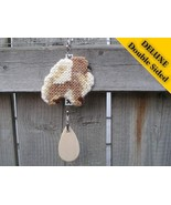Pomeranian Deluxe crate tag double sided, hang ... - $18.00