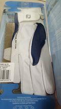 FootJoy FJ StaCooler Women's Golf Glove, Left Hand, Medium, Pearl/Navy image 4