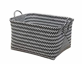Useful Storage Containers Household Storage Basket Laundry Basket[Black] - £24.20 GBP