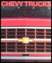 1989 Chevrolet Truck Original Sales Brochure, Blazer S-10 Full Size GM 89 - $8.98