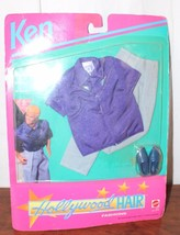 Hollywood Hair Ken Outfit MIP 3747 Fashions For a Star Purple Shirt 1992 - $13.10