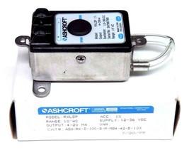 NIB ASHCROFT ASH-RX-D-100-B-M-MB4-42-B-10X PRESSURE TRANSMITTER RXLDP, 4/20MA