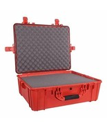 "25"" XL Waterproof Protective Hard Case with Foam, Red - 25"" x 20"" x 8"" #... - $290.48"