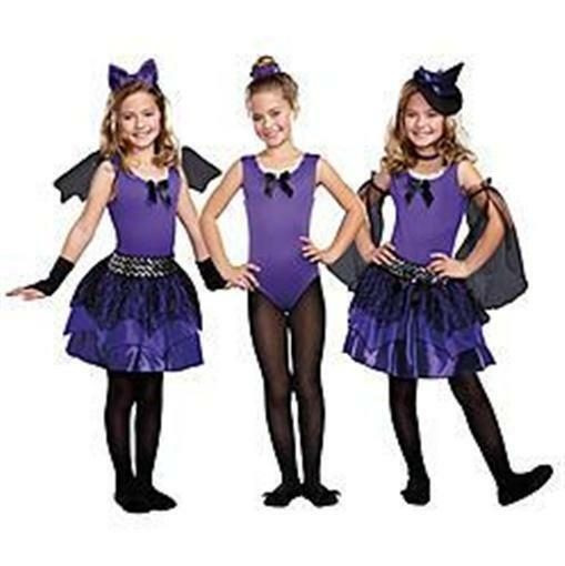 NEW KIDS GIRL TOTALLY GHOUL 3 IN 1 BEWITCHING BEAUTIES COSTUMES S 4-6 DRESS UP - $14.44