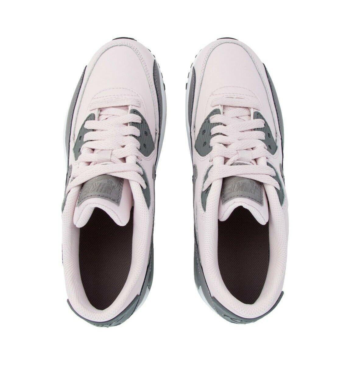 Nike Air Max 90 LTR (GS) Barely Rose Gunsmoke White Grade School 833376 601 image 4
