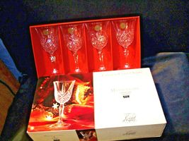 Collections Cristal d'Arques Masquerade Set of 4 Goblets AA19-CD0047 Vintage image 3