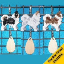 Chihuahua Long Coat Deluxe crate tag, dog decor, agility show, pick your color - $16.00