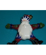 "Boyds Bears Ceramic Santa Enamel/Painted  ""Star"" Pin from 2002 - $29.00"