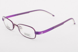 Adidas A993 40 6053 LiteFit Matte Purple Eyeglasses AD993 406053 46mm KIDS - $68.11