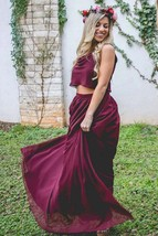 Chiffon Maxi Skirt with pockets Long Skirt Full skirt Bridesmaid skirt S... - $46.00