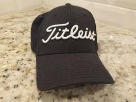 Titleist Pro Med large Golf Hat Cap Black - $10.60