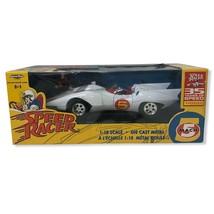 SPEED RACER MACH 5 ERTL 1/18 Diecast Car American Muscle 35th ANNIV. New... - $112.20