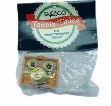 Enesco Teenie Tinies Treasure SEALED miniature figurine ornament Tea set teapot - $16.35