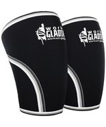 Knee Compression Sleeve L 7mm Neoprene Brace Max Support for Weightlifti... - $27.97