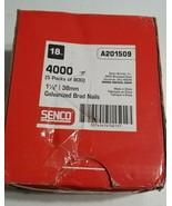 Senco - A201509 18-Gauge -1-1/2 Inch Brads - 5 PKGS OF 800 Free Shipping... - $24.49