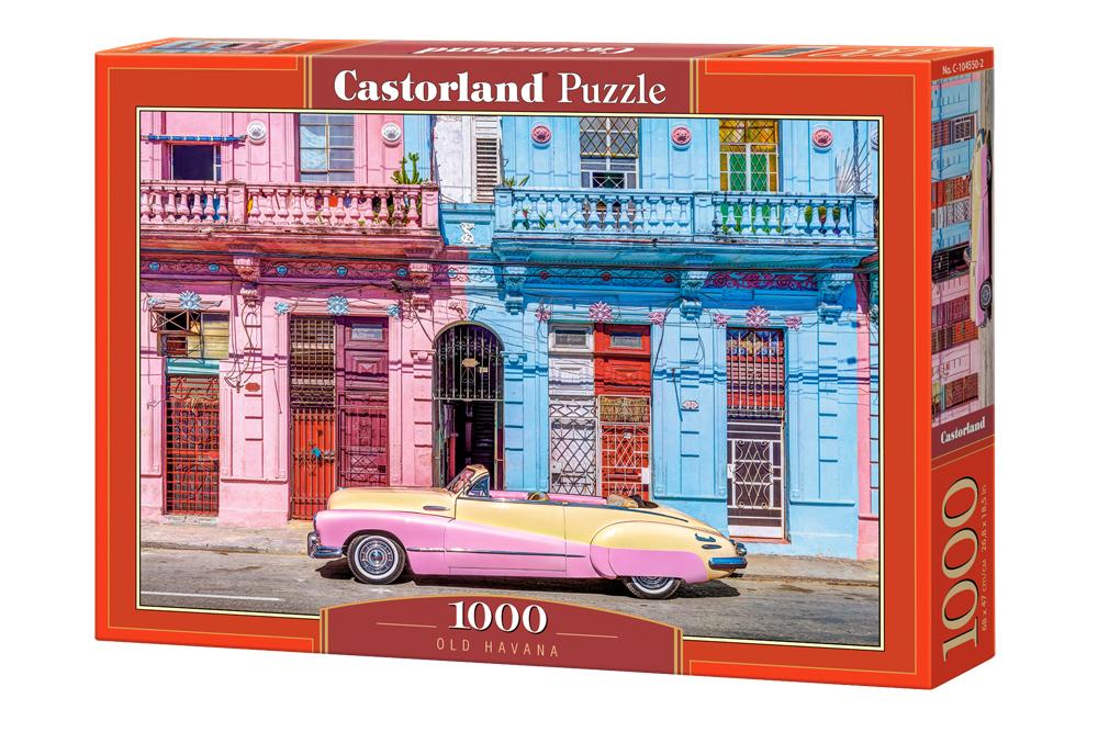"NEW Castorland Jigsaw Puzzle 1000 Pieces Tiles ""Old Havana ..."